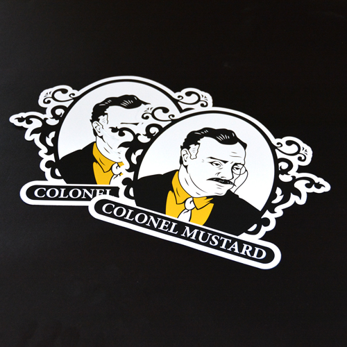 Colonel Mustard Multi-Color Transfer Sticker