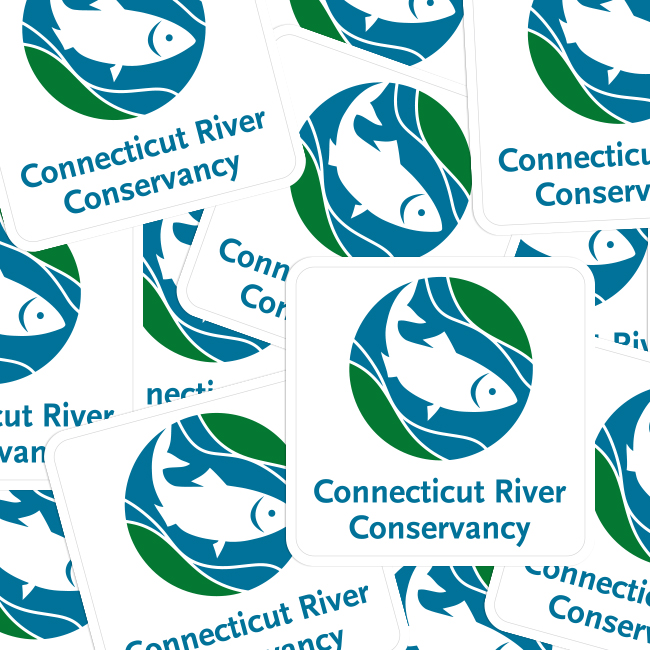 Connecticut River Conservancy Rounded Corner Stickers