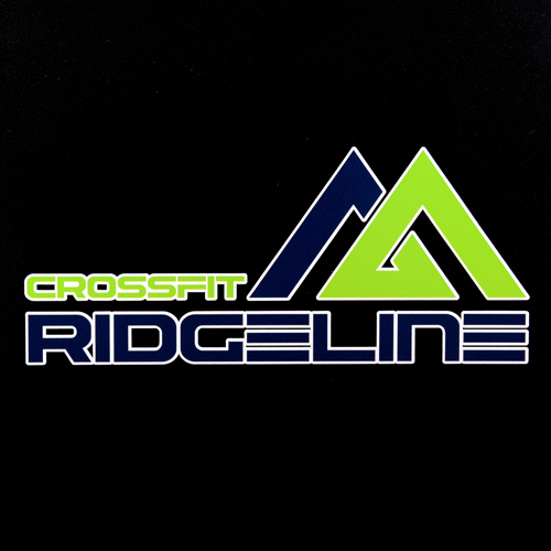 CrossFit Ridgeline Custom Cut Out Stickers
