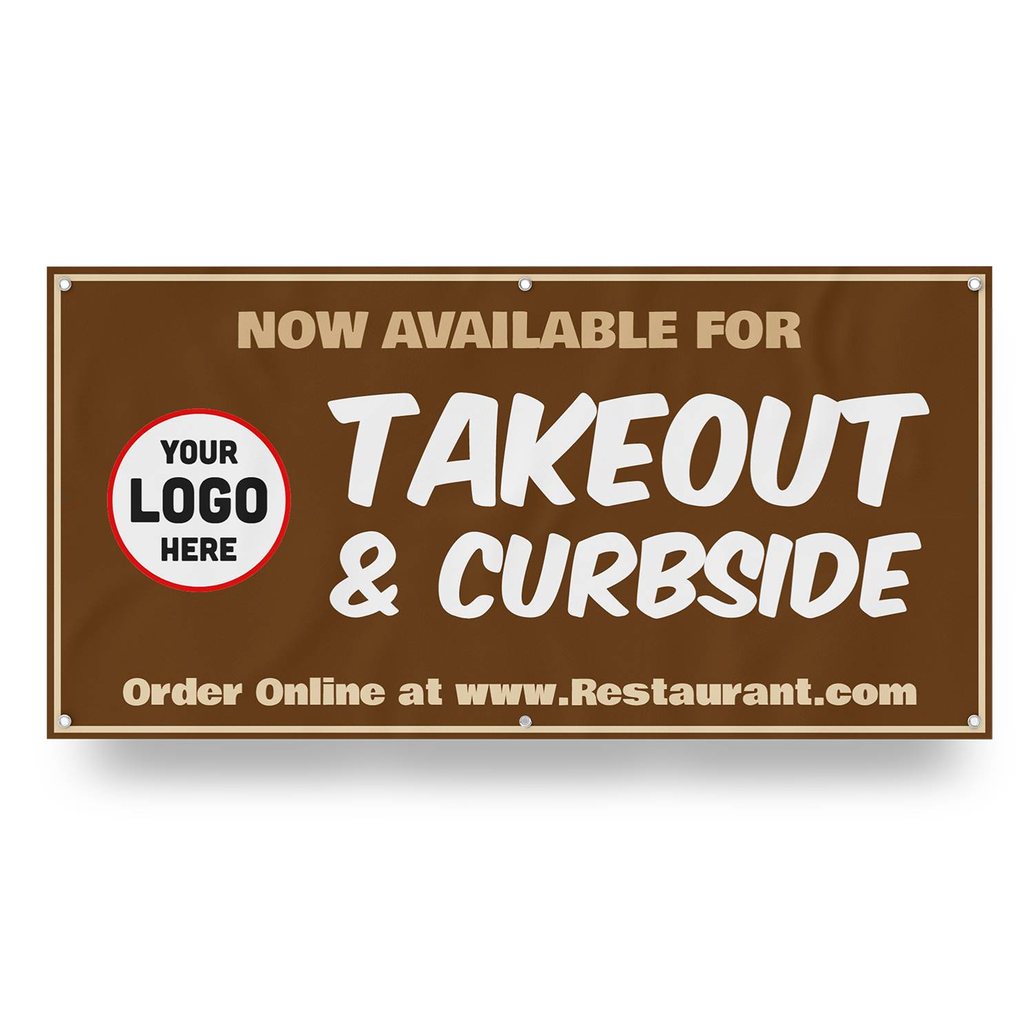 Takeout Curbside Banner