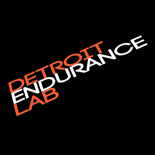 Detroit Endurance Lab Custom Cut Out Sticker