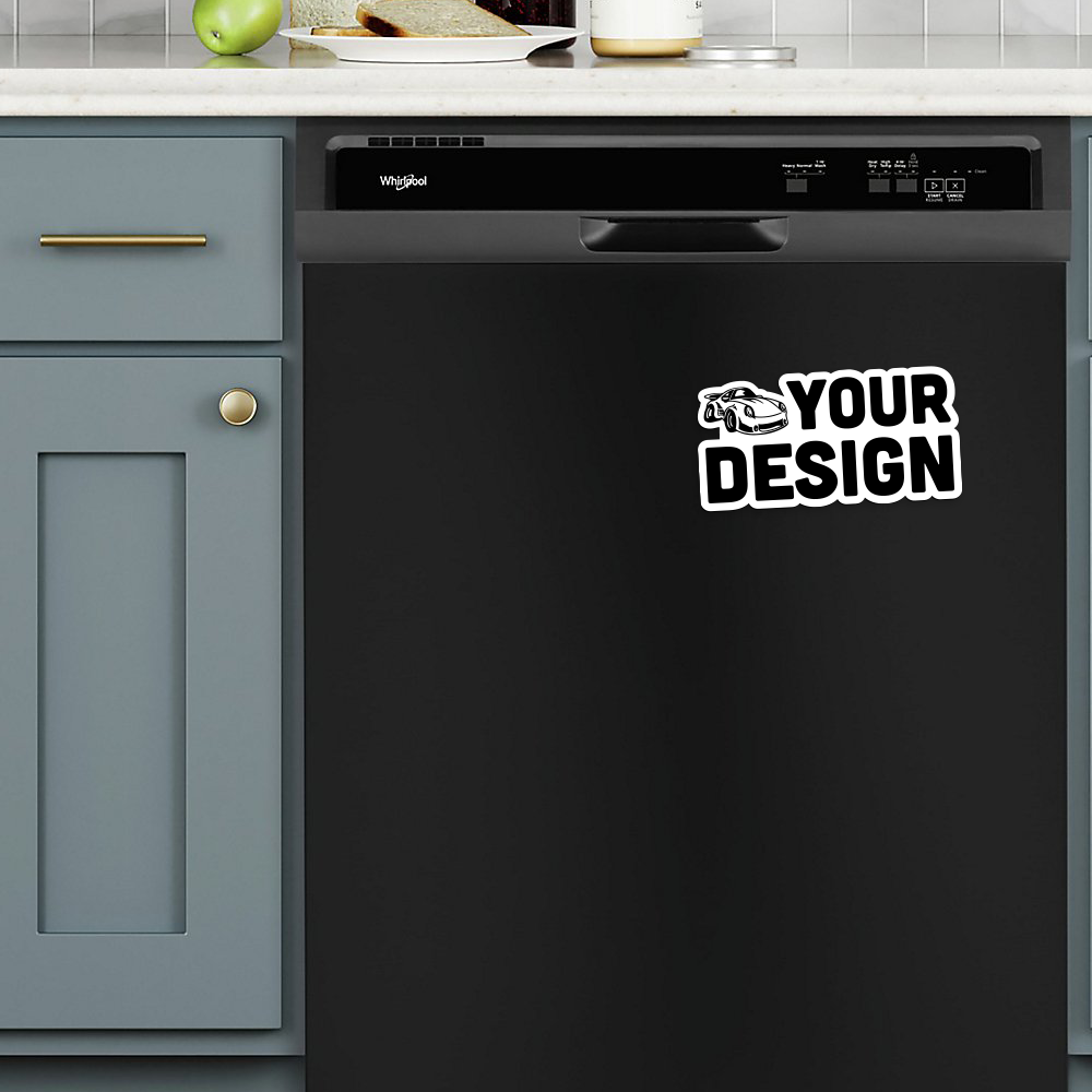 Die Cut Magnet Dishwasher