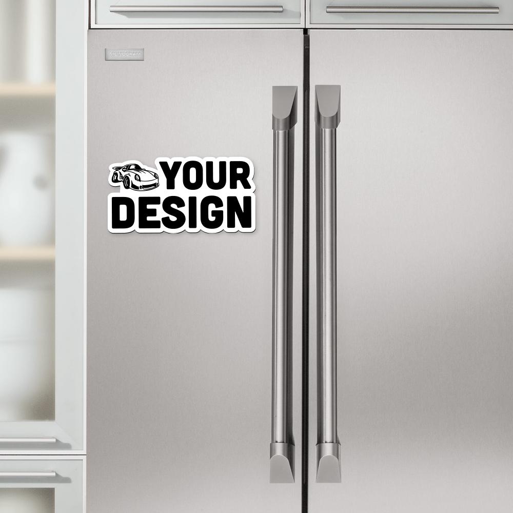 Die Cut Magnet Refrigerator