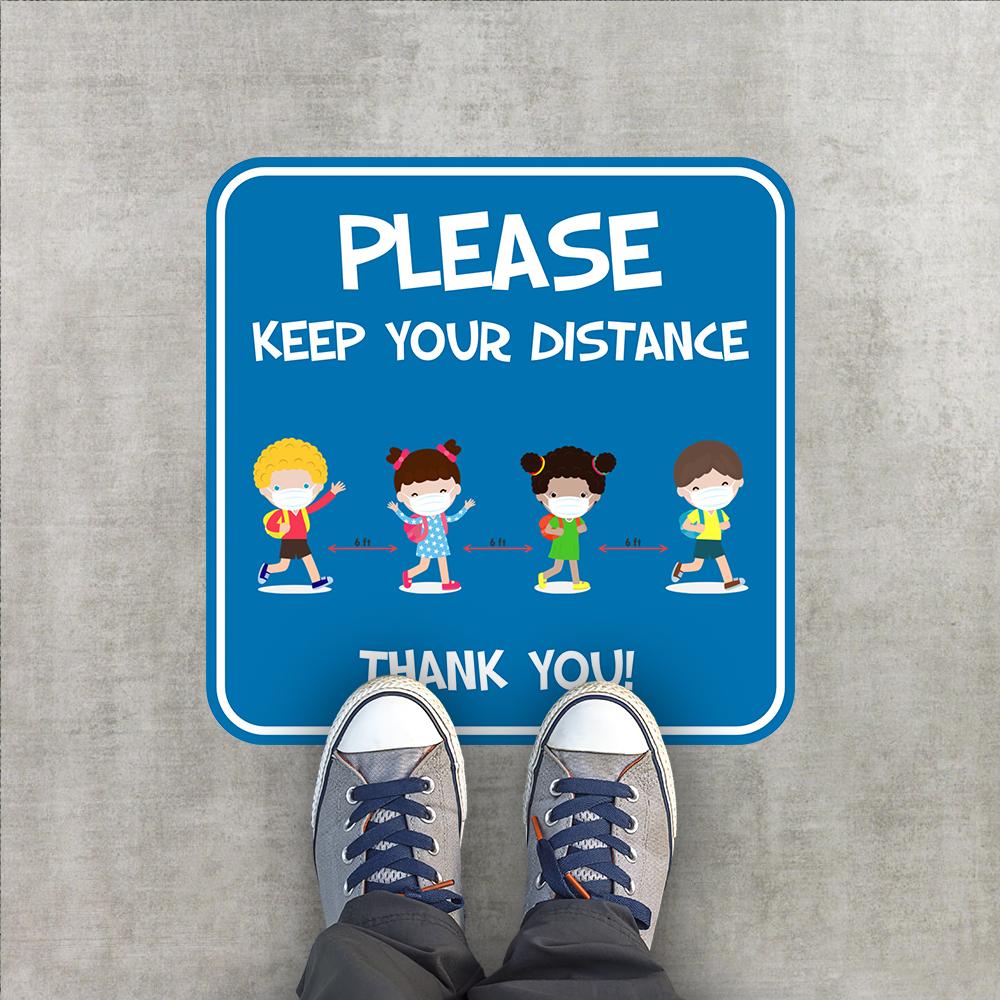 Elementary Floor Stickers 1