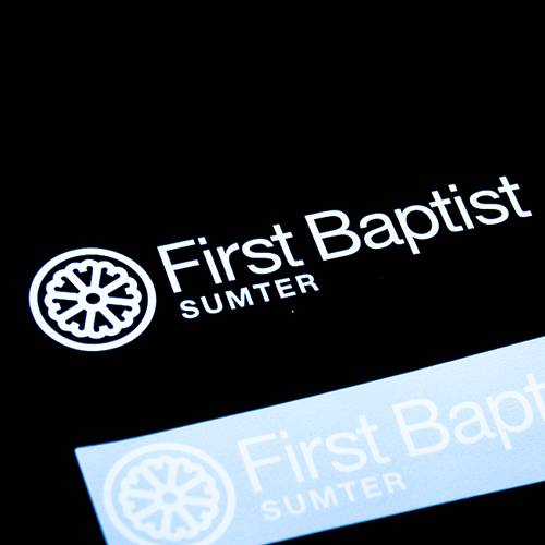 First Baptist Sumter Transfer Sticker