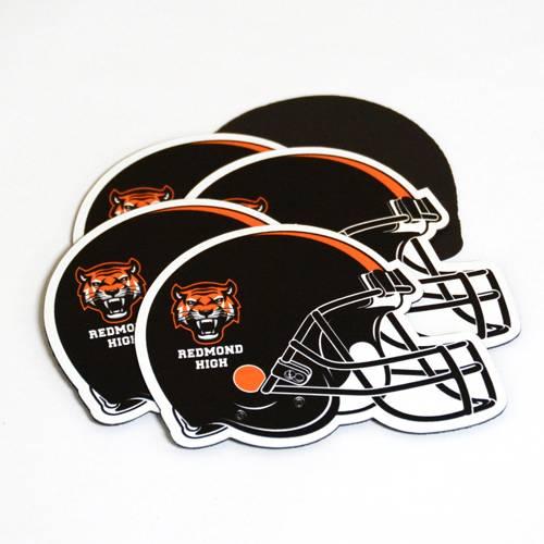 Football Helmet Custom Die Cut Magnet