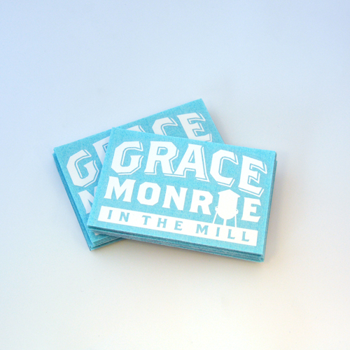 Grace Monroe Custom Single-Color Cut-Out Stickers