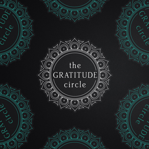 The Gratitude Circle Custom Die Cut Stickers