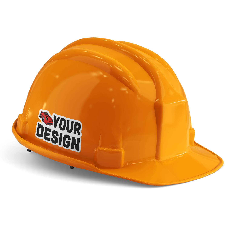 Rhino Construction Hard Hat Sticker