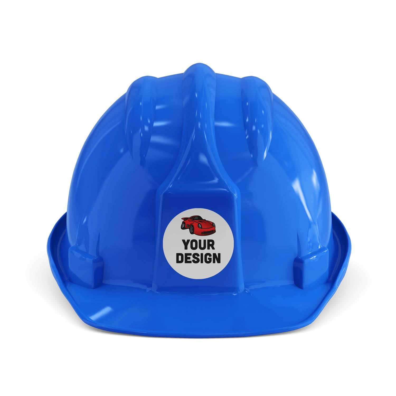 5G Construction Hard Hat Sticker