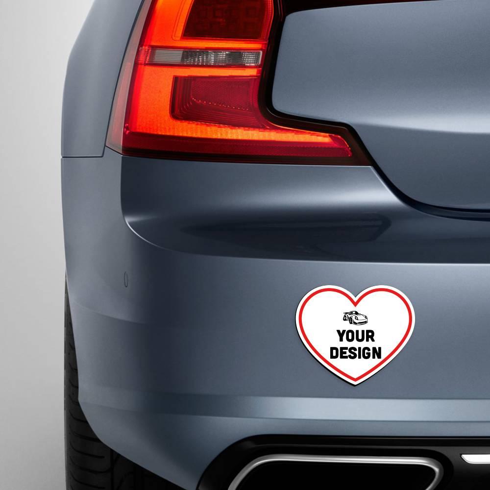 Heart Magnet Car