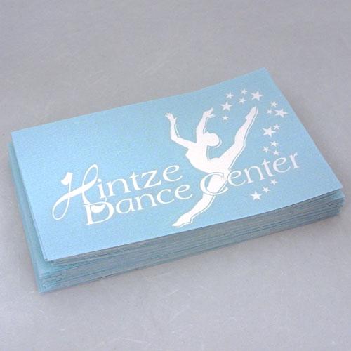 Hintze Dance Center Custom Cut-Out Sticker