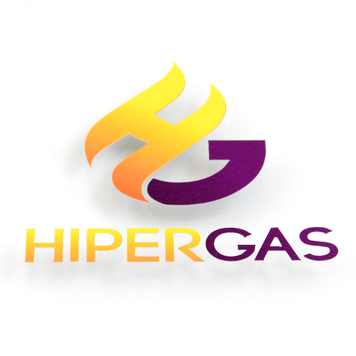 Hiper Gas Custom Cut-Out Stickers
