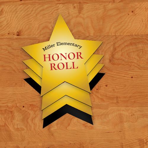 Honor Roll Custom Star Magnets