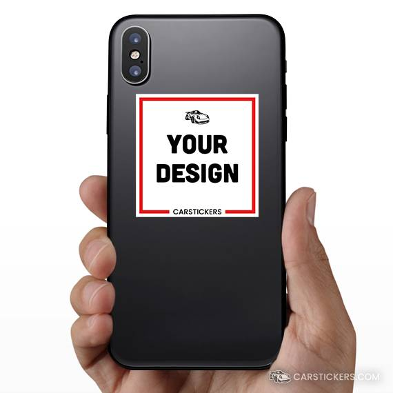 Square Sticker Phone