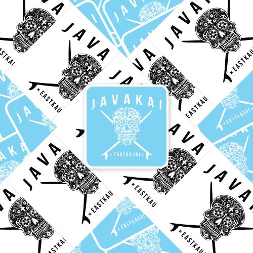 Java Kai Custom Rectangle Stickers