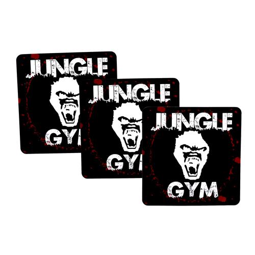 Jungle Gym Custom Rectangle Stickers