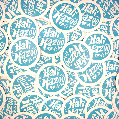Kali Kazoo Custom Circle Stickers