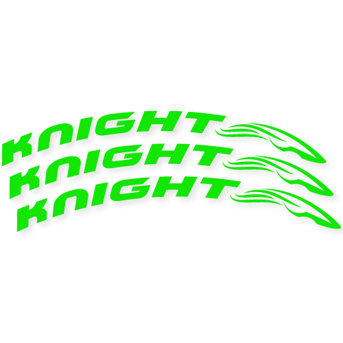 Knight Composites Custom Cut Out Stickers
