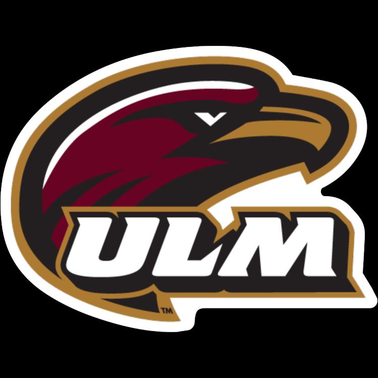 Louisiana Monroe Warhawks NCAA Logo Sticker