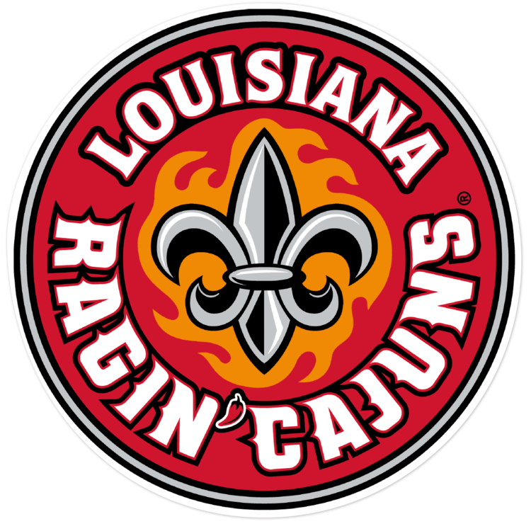 Louisiana Ragin' Cajuns NCAA Logo Sticker