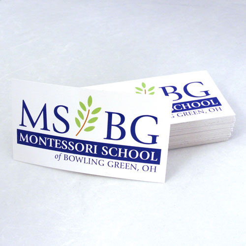 Montessori School of Bowling Green Custom Square Stickers