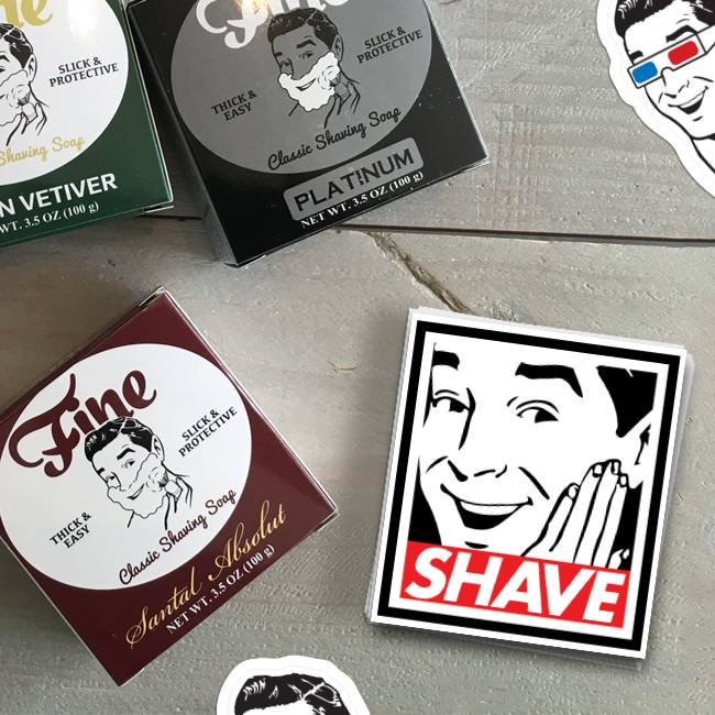 Mr Fine Rectangle Stickers
