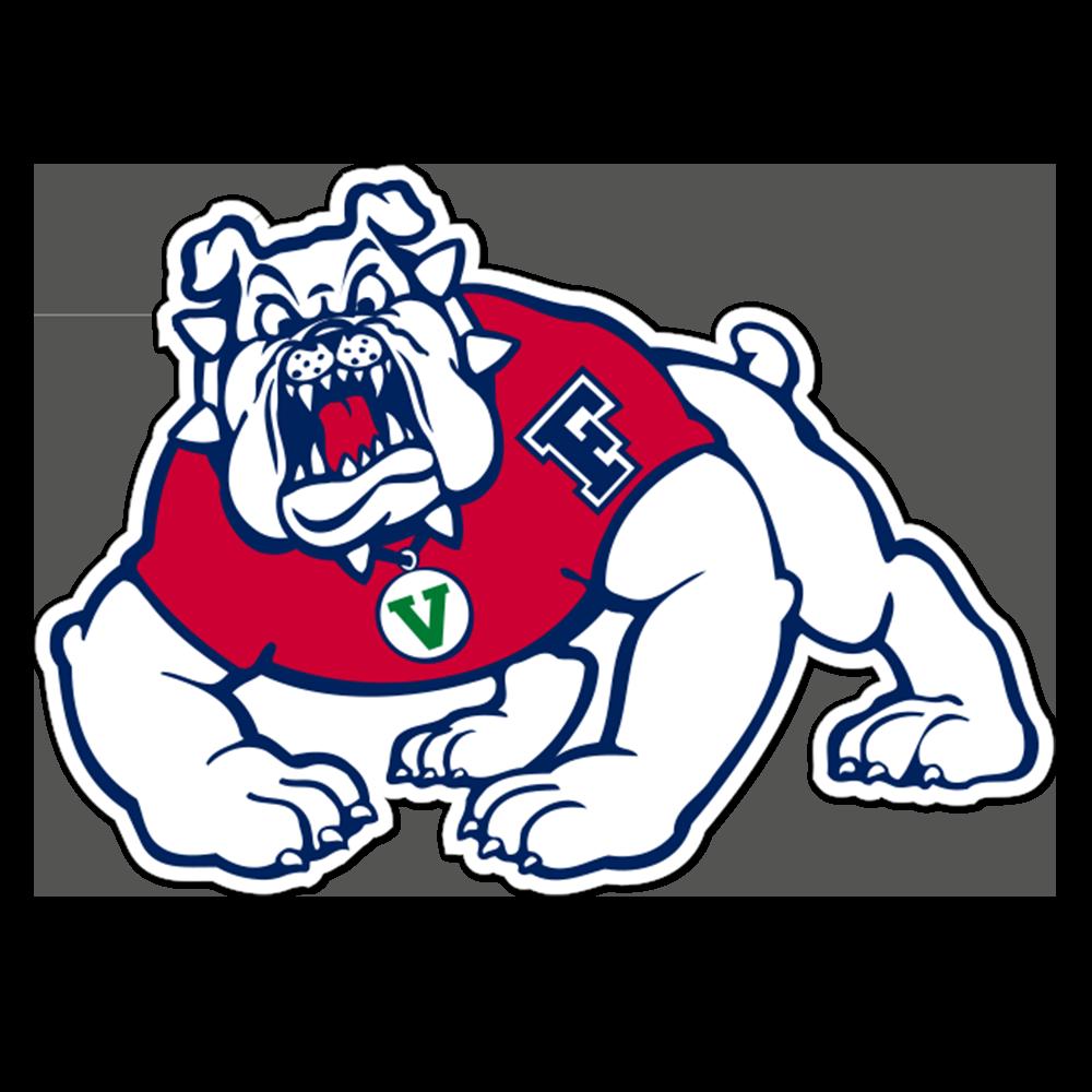 Fresno State Bulldogs NCAA Logo Sticker