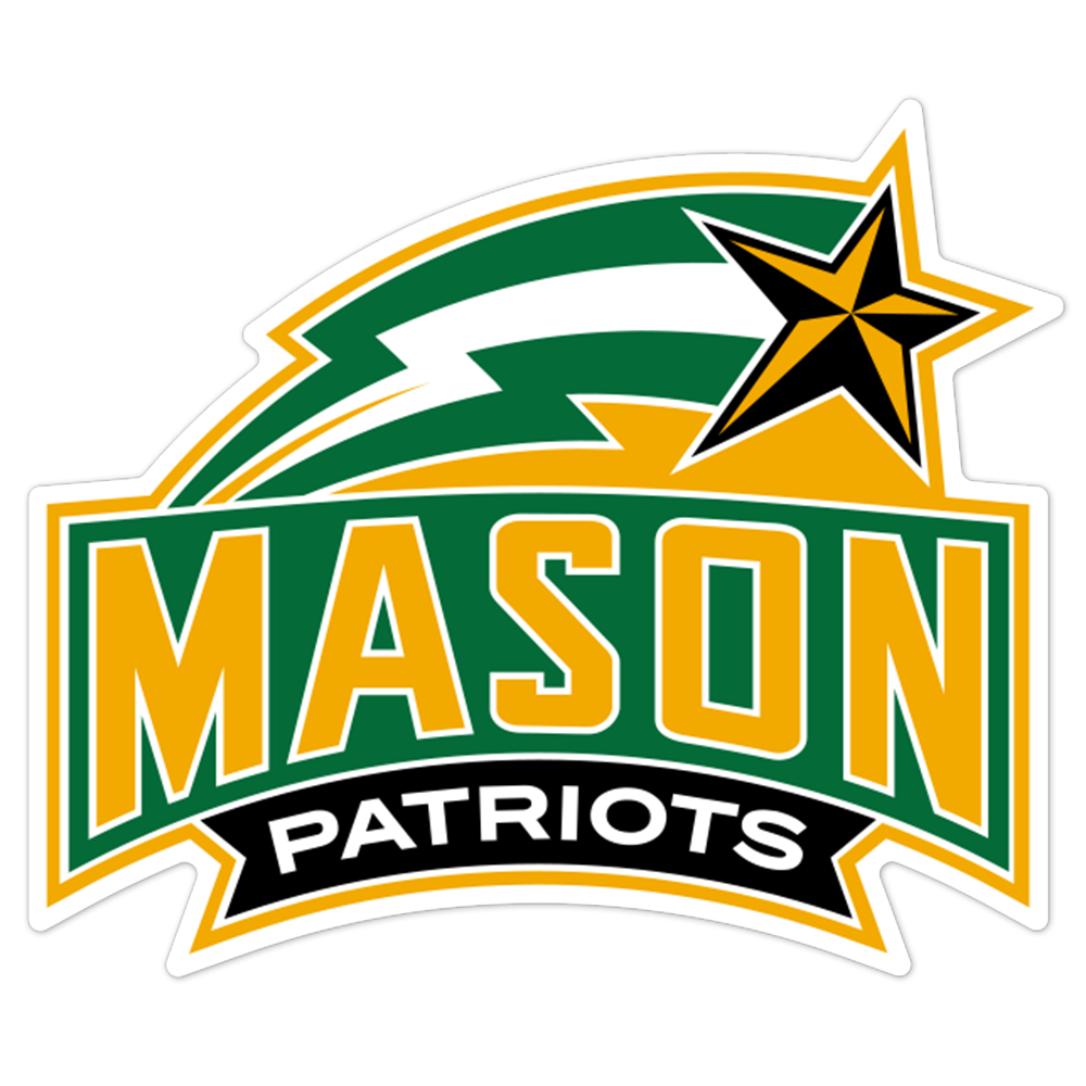 George Mason Patriots NCAA Logo Sticker
