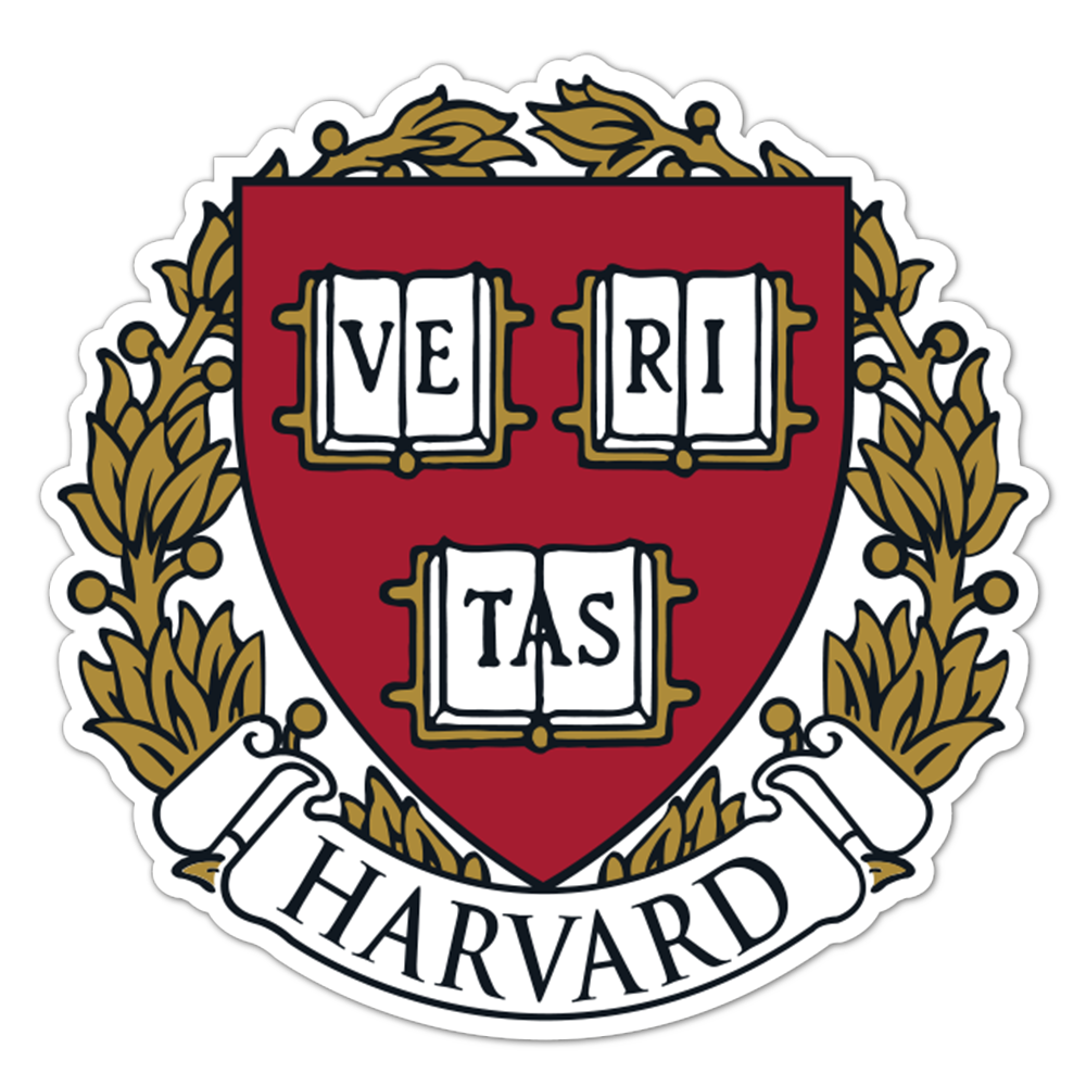 Harvard Crimson NCAA Logo Sticker