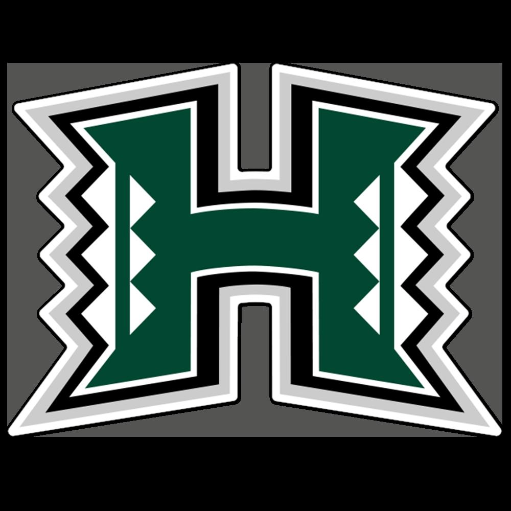 Hawaii Rainbow Warriors NCAA Logo Sticker