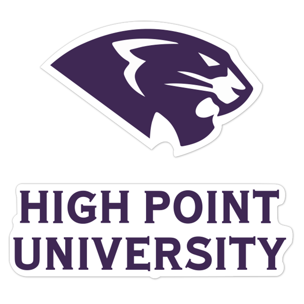 High Point Panthers NCAA Logo Sticker