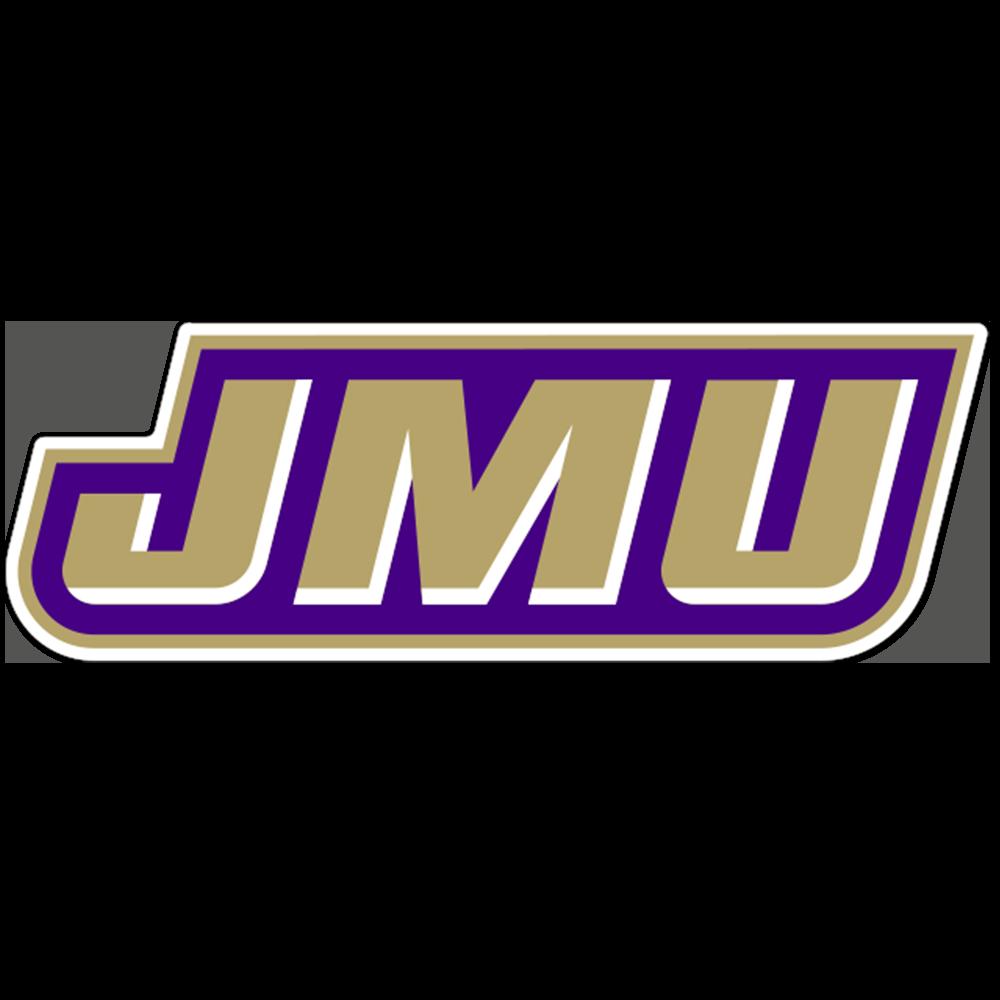 James Madison Dukes NCAA Logo Sticker