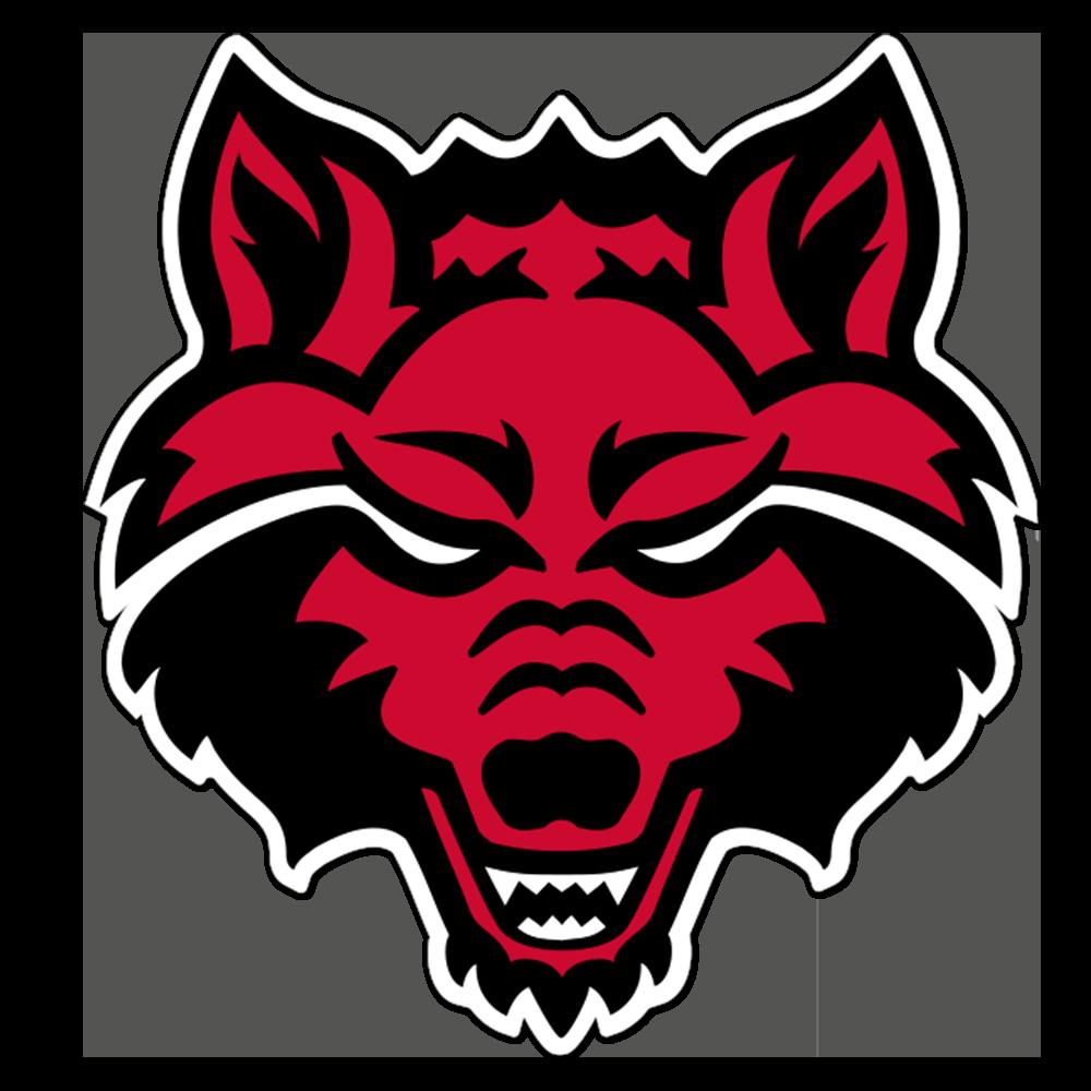 Arkansas State Red Wolves NCAA Logo Sticker
