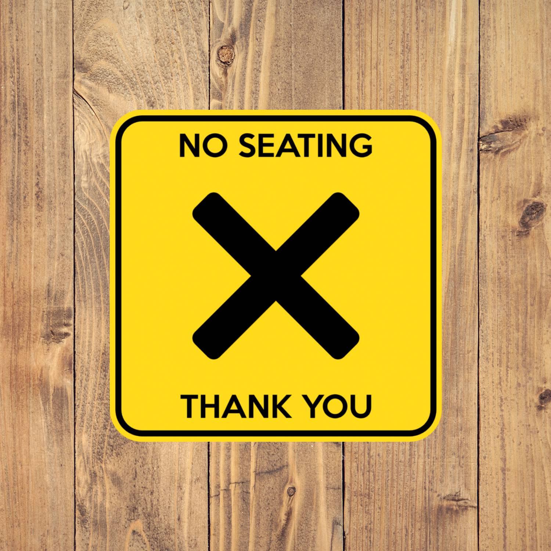 No Seating 1