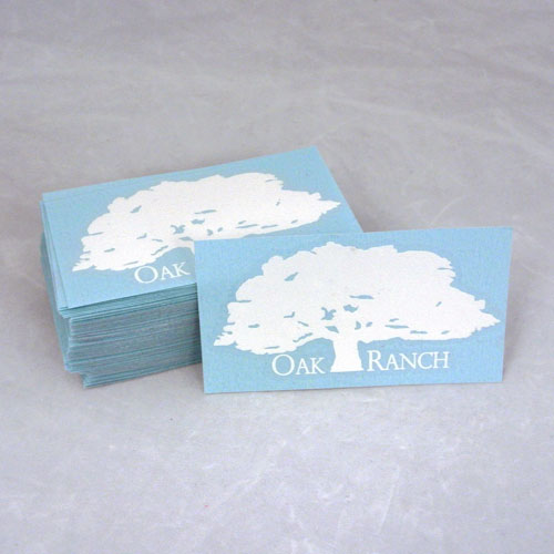 Oak Ranch Custom Cut-Out Sticker