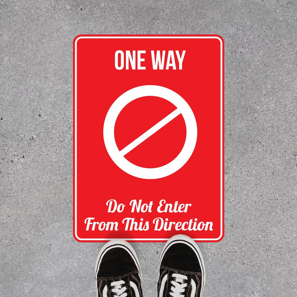 One Way Exit 1