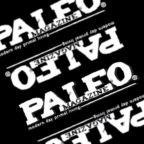 Paleo Magazine Custom Cut Out Stickers