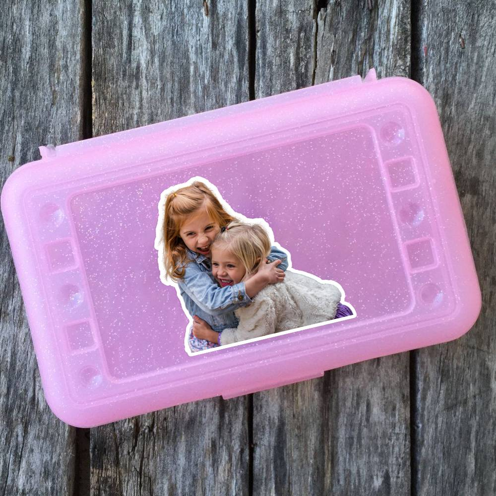Pencil Box Photo Sticker