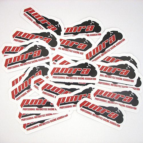 PMRA Custom Die Cut Stickers