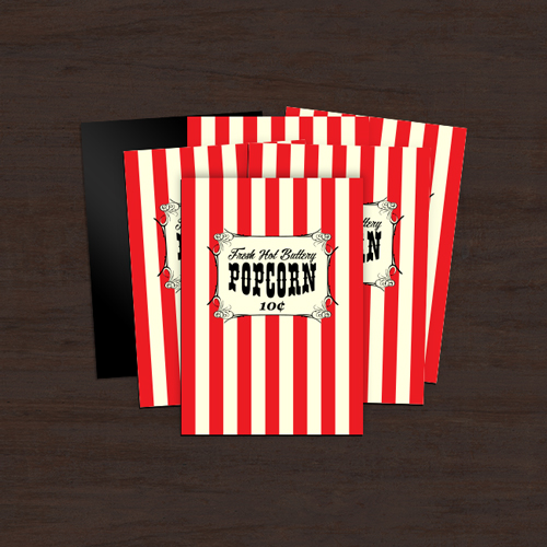 Popcorn Custom Rectangle Magnet