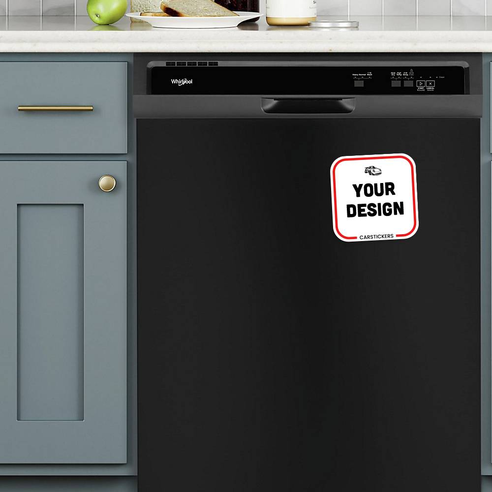 Rounded Corners Magnet Dishwasher