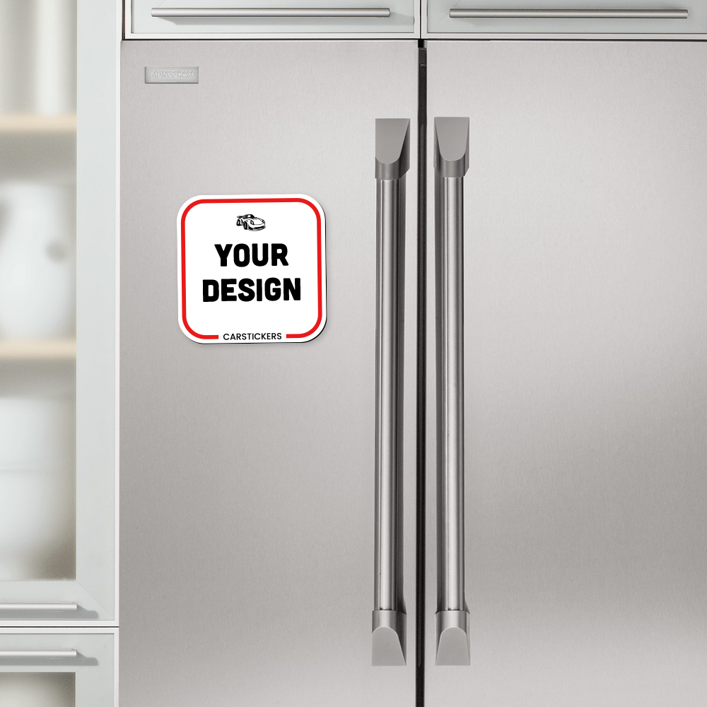 Rounded Corners Magnet Refrigerator