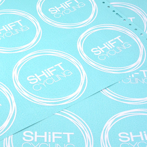 Shift Cycling Custom Cut-Out Stickers