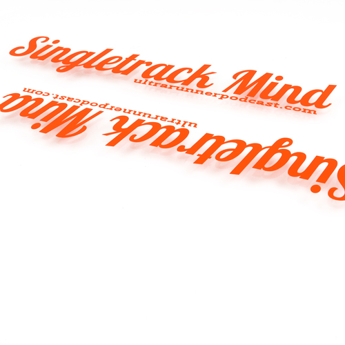 SingleTrack Mind Custom Cut-Out Stickers