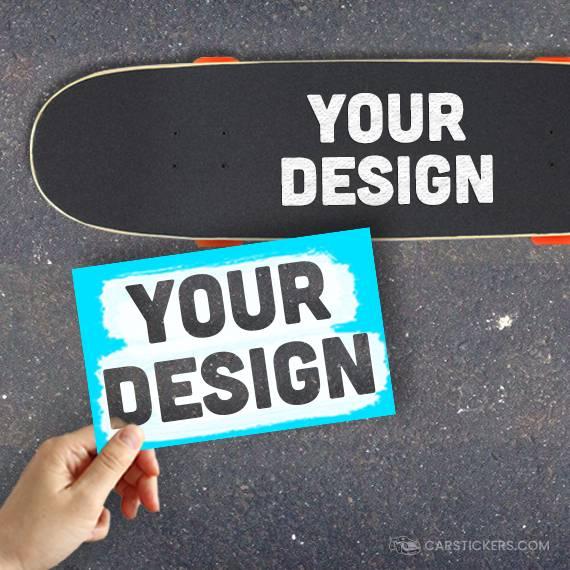 Stencil Stickers Skateboard