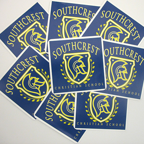 Southcrest Custom Rectangle Stickers