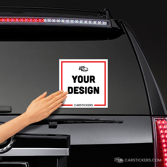 Design Your Own Car >> Square Stickers