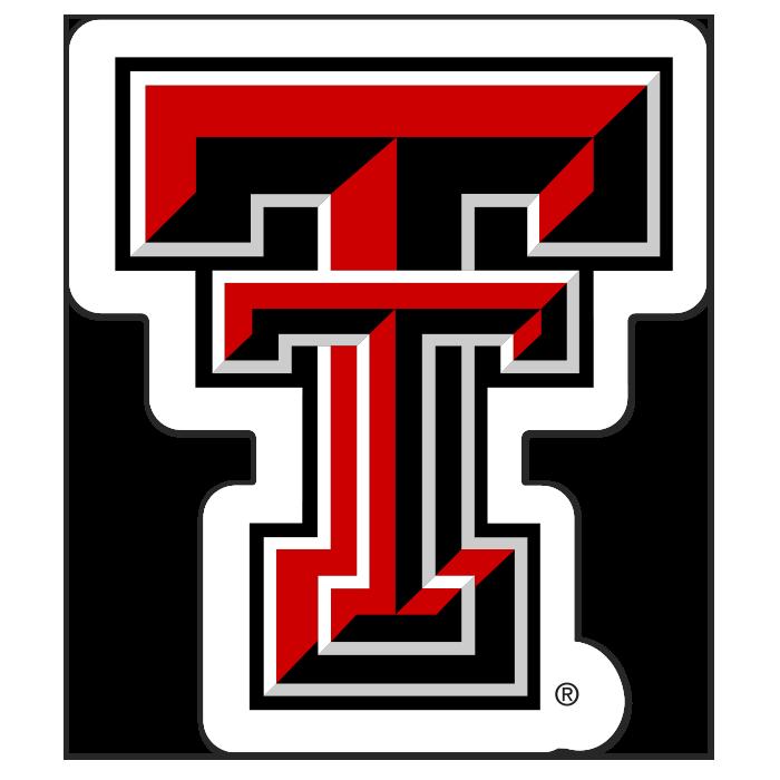 Texas Tech Red Raiders NCAA Logo Sticker
