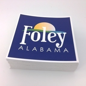 Foley Alabama Custom Rectangle Stickers